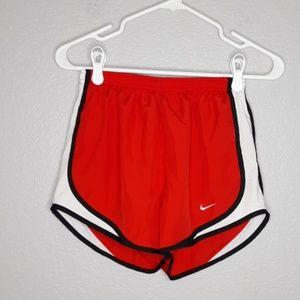 Nike Dri-Fit Red Tempo Blacktrim Drawstring Shorts